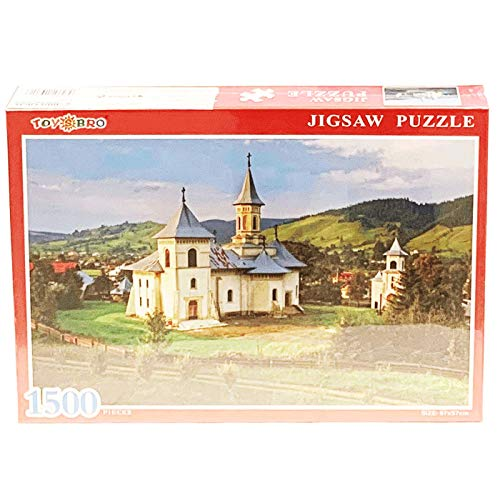Puzzle de 1500 Piezas de Iglesia Gura Humorului