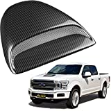 2006 Ford Freestyle Air Intake Parts - Mega Racer Carbon Fiber Automotive Hood Scoops for Trucks - JDM Racing Style Front Decorative Air Vents with Aero Dynamic Air Flow Exterior Intake Cover 3M Tape Adhesive, Universal Fit Car Wash Safe