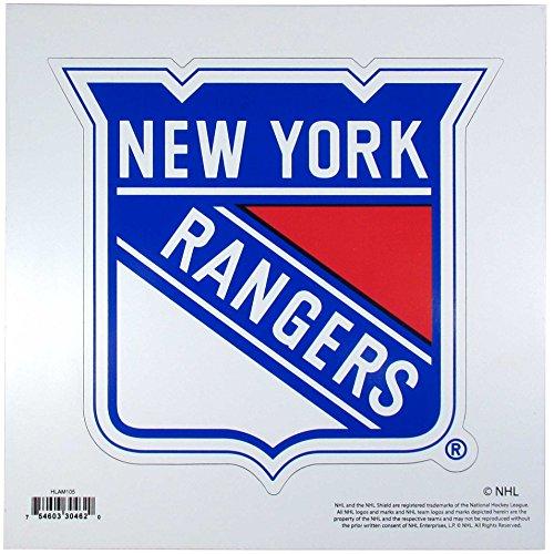 NHL Siskiyou Sports Fan Shop New York Rangers Logo Magnets 8 inch sheet Team Color