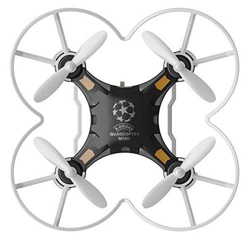 Metermall Home Kinder Speelgoed Pocket Drone met Voor Afstandsbediening Zender Mini Quadcopter RC helikopter Zwart