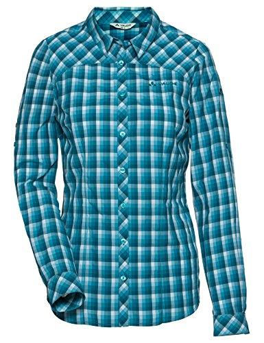 VAUDE Damen Women's Tacun LS Shirt Hemd-Bluse, Dragonfly, 34