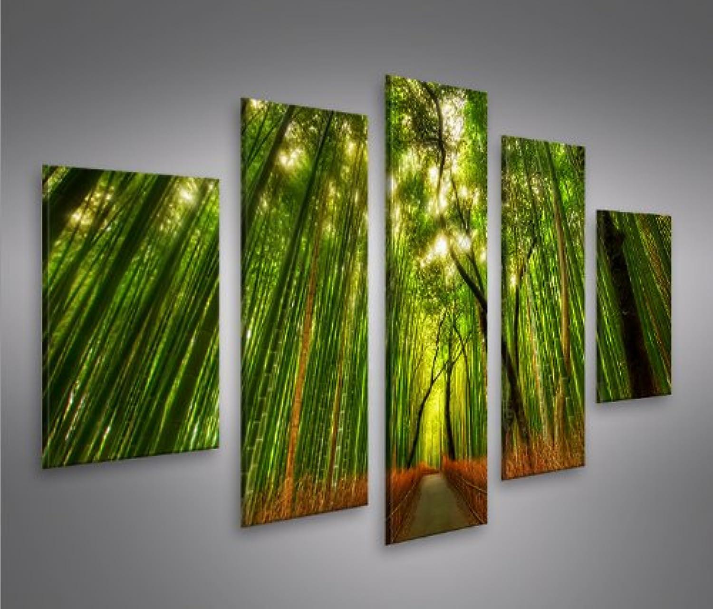 Islandburner Bild Bild Bild Bilder auf Leinwand Bamboo Bambus Wald MF XXL Poster Leinwandbild Wandbild Dekoartikel Wohnzimmer Marke B01MZ7RSTC c3a7bf