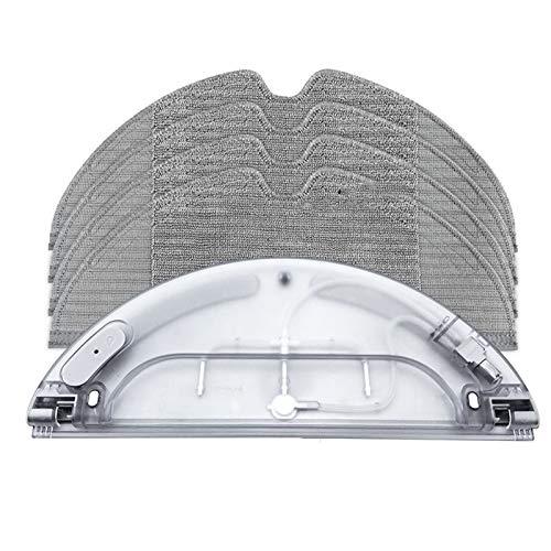 JGSDJWIAS Repuestos para Aspiradoras Robot Aspirador Tanque de Agua Paño de Limpieza de paño Ajuste para Xiaomi Ajuste para MIJIA 1C MI MOP Pro Repuestos para el hogar Repuestos
