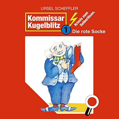 Die rote Socke Audiobook By Ursel Scheffler cover art