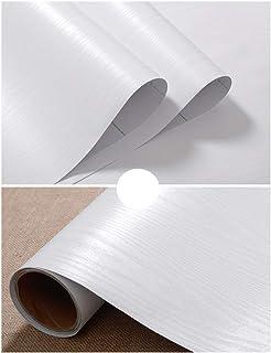 JLCorp - Papel de contacto con textura mate, autoadhesivo, revestimiento de papel de vinilo para estantería, revestimiento de cajón, adhesivo para encimera, 3 metros