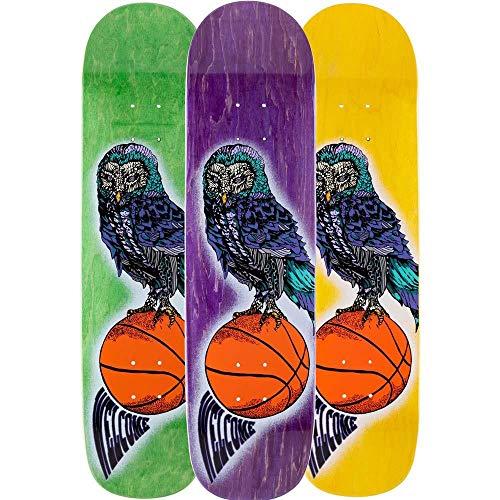 Welcome Hooter Shooter - Tavola da skateboard Bunyip Multi 20,3 cm, colore: macchia