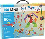 Kid K'Nex 85612 Budding Builders Building Set, Fun and Colourful Kids Construction Toys, 50 Building...