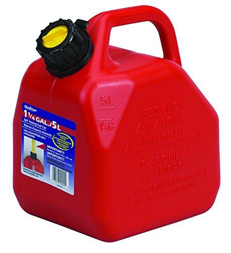 Scepter B5 BIDON Gasolina 5 Litros, Rojo