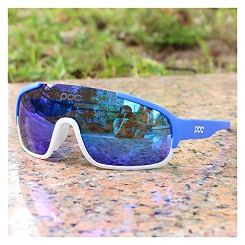 YINHAO Crave POC do polarizado Airsoftsports Blade Ciclismo Gafas de Sol Hombres Sport Road Mountain Bike Glasses Hombres Mujeres Eyewear (Color : 6)
