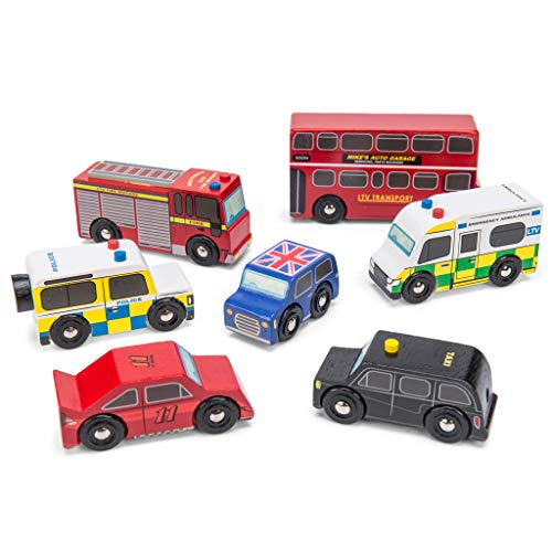 Le Toy Van - Set di mezzi di Trasporto londinesi