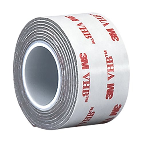 3M - 2-5-RP32 VHB Tape RP32 2 in Width x 5 yd Length (1 Roll) Gray