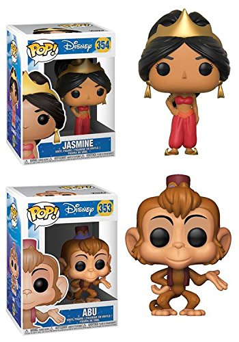 Funko POP!: Disney: Aladdin: Jasmine + Abu