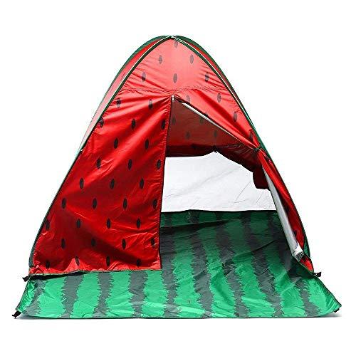 ZCZZ Carpa para Acampar y Senderismo a Prueba de Viento Carpa para Acampar al Aire Libre para 2-3 Personas Carpa automática Ligera emergente Toldo de Playa Impermeable