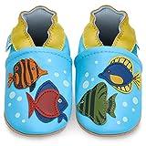 Zapatillas Bebe Niño - Zapato Bebe Niño - Zapatos Bebes - Calzados Bebe Niño - Peces Tropicales - 12-18 Meses