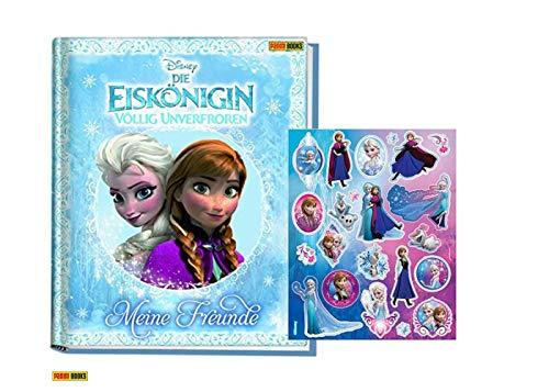 Die Eiskönigin - Völlig unverfroren Freundebuch (Meine Freunde) Gebundene Ausgabe + 1. original Frozen Stickerbogen