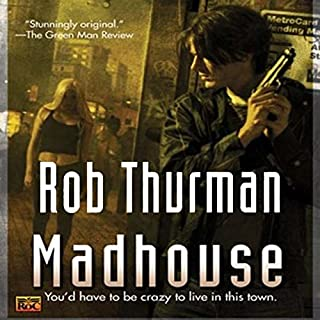 Madhouse audiobook cover art