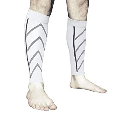 undefined - Newly 1 par de apoyo de pantorrilla graduado de compresión de la pierna calcetines para ejercicio al aire libre deportes de seguridad Dropshipping Z0726