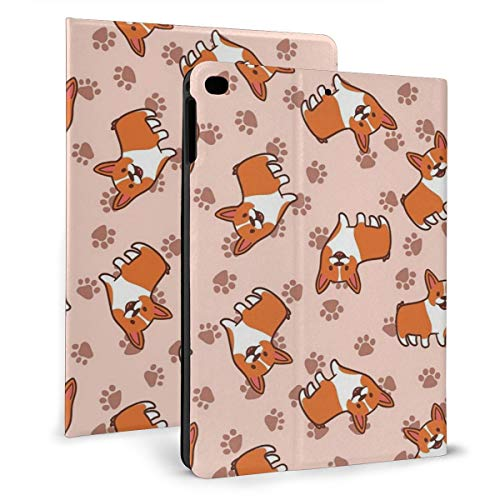 Case Ipad 9.7 Inch 2017/2018 (Mini4/5) - Soft Leather Stand Folio Case Cover For Ipad 7.9 Inch, With Multiple Viewing Angles, Auto Sleep/Wake, Corgi Dog