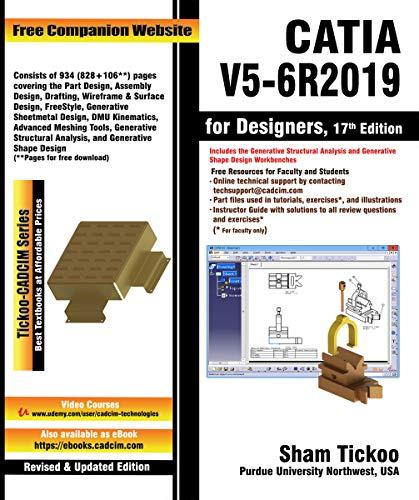 CATIA V5-6R2019 for Designers, 17th Edition (English Edition)
