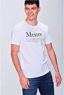 c9fb47add Camiseta Estampa Mestre Masculina