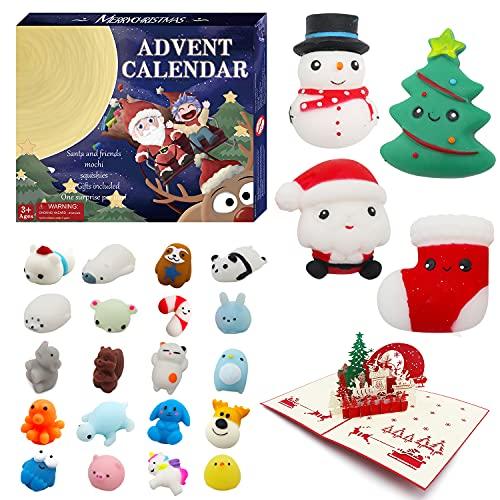 Mochi Squishy Advent Calendar 2021