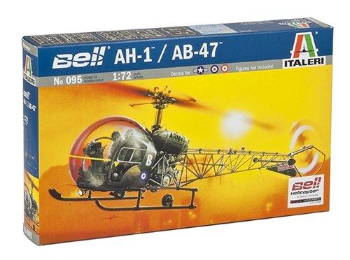 Italeri 0095S - Maqueta de helicóptero AH.1/AB-47 importado