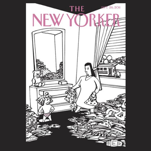 The New Yorker, September 26th 2011 (David Owen, Peter Hessler, Jenny Diski) audiobook cover art