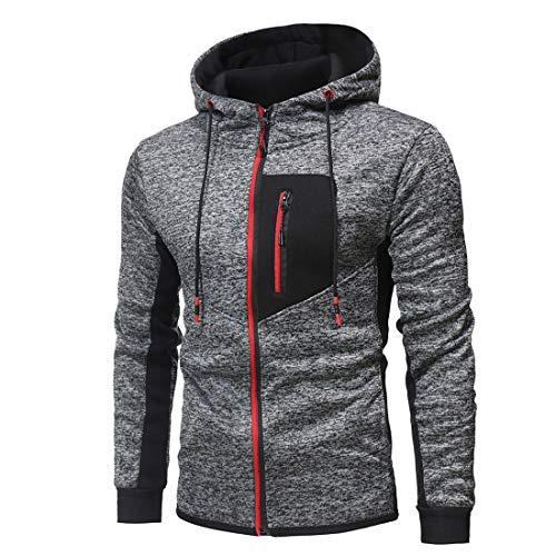 Mens Fleece Hoodie Gym Sports Workwear Jacket Joggers Hoody Sweatshirt Plain Overhead Hooded Top Mens Casual Long Sleeve Hoodies Full Zip Velvet Sweatshirt Sweatshirt with Side Pockets Hoody Pullover