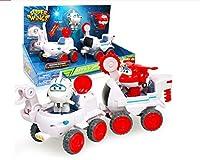 HIL Super wings パズルシーンのおもちゃ変形玩具セット変形車のおもちゃ変形ロボット子供のおもちゃTransform-a-Bots変身する乗り物子供のお気に入りのギフト,Astra