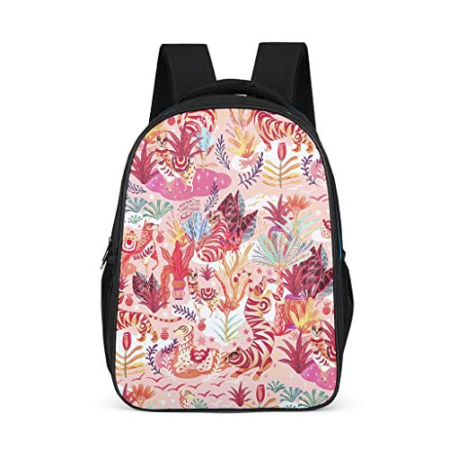 Animal, plant, fairy Adult's Backpacks Lightweight Perfect Size Outdoor plant grey onesize