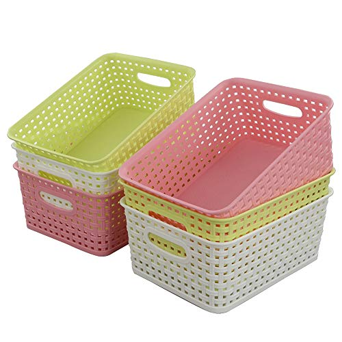 Fiaze Woven Plastic Storage Basket