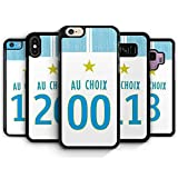 Coque silicone BUMPER souple IPHONE 6/6s - Football OM marseille olympique 2018/2019...