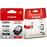 Canon 8286B001 Ink Cartridge Bundle - Black and Tri-Colour