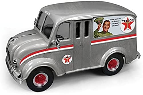 1950 Divco Delivery Truck  Texaco  (2014) Brushed Metal Special Edition Series  31 1 25 by Autoworld CP7156 by Autoworld