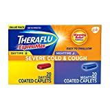 Theraflu ExpressMax Combo Caplets for Daytime and Nighttime Severe Cold and Cough (40-count)