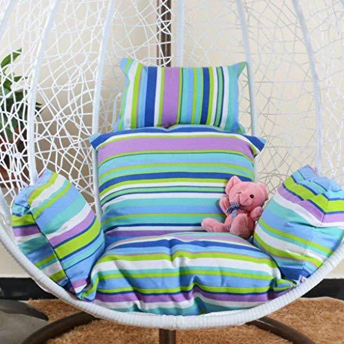 Dikke ei stoel kussen, Ronde Swing Stoelkussen, Fluffy Cotton Wicker Opknoping Egg Chair Kussens Pad Patio Garden Indoor-AD