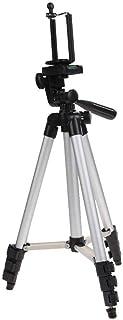 حامل ثلاثي القوائم محمول قابل للتعديل للكاميرات الرقمية / الهواتف الخلوية