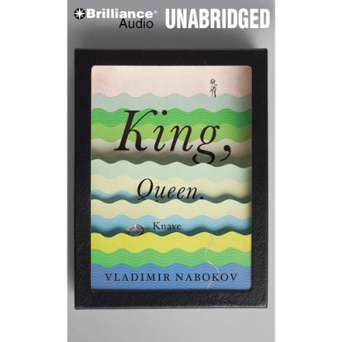 King, Queen, Knave audiobook cover art