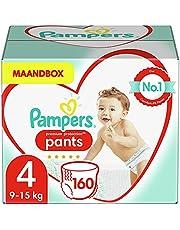 Pampers Premium Protection, rozm. 4, 9-15 kg, pudełko miesięczne (160 pieluszek)