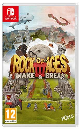 Justforgames Rock of Age 3 Make & Break, Schalter