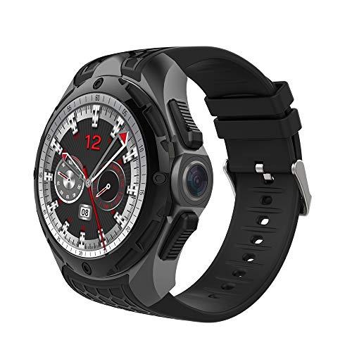 Guarda CELINEZL AllCall W2 Smart Watch Phone, 2GB + 16GB, impermeabile IP68, Android 7.0 da 1,39 pollici, MTK6580 Quad Core fino a 1,3 GHz, Rete: 3G, Frequenza cardiaca/Modalità esercizio/Fotocame