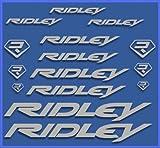 Ecoshirt BJ-KYTE-8QO9 Adesivi Ridley Dr1090 Vinile Adesivi Decal Aufkleber К≈ - MTB Stickers Bike, Argento