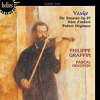 Violin Sonatas Op 27