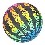 CUTULAMO Juguetes de Verano, escenarios de aplicación Amplia Bola de Juguete de sandía Excelente Material de PVC para Juguete de Agua(Sandía de Color)