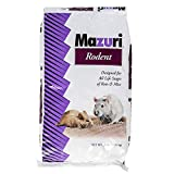 Mazuri Rodent   Nutritionally Complete Rat and Mouse Food   Amonia-Reduction Formula - 25 Pound (25 lb) Bag