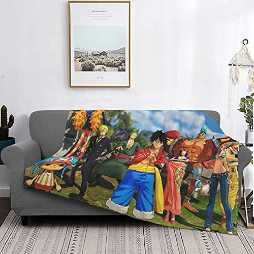 Manta de microfibra ultrasuave de One Piece World Seeker para sofá cama de 152 x 127 cm
