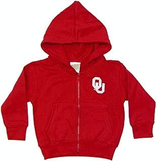 Little King NCAA Youth Boys/Girls Toddler Full Zip Hoody Sweatshirt with Pockets