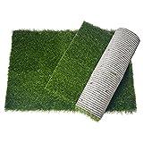 Oiyeefo Artificial Pet Pee Grass Mat for Puppy, Pet Turf Fake Grass...