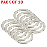 10 Pieces oil drain plug crush washer/engine oil drain plug gasket Compatible with Boxster, Cayman, GTS, Spyder, Turbo, Carrera & Targa Models. Replaces for the Part# 900 123 106 30