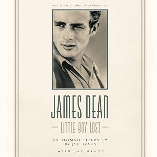 James Dean audiobook cover art